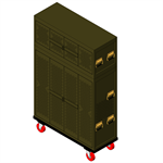 Universal Weapons Rack UWR Prenested