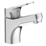 brive - single-lever washbasin mixer  - with c3 model water and energy efficient cartridge - (lever in center position = cold water)