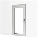 entrance door w/ code fitting
