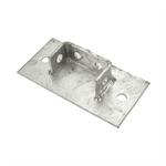 Channel Bracket - Double Channel Base Plate (200 x100mm)