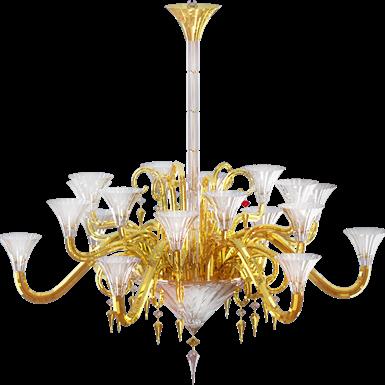 mille nuits gold mille nuits 18l gold chandelier