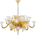 mille nuits gold mille nuits 18l gold chandelier