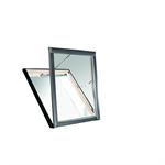 Roto smoke extraction roof window Designo R5 timber