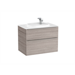 BEYOND 800 Unik (base unit with two drawers with handles and FINECERAMIC® basin)