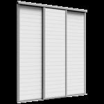 porte de placard coulissante origine 3 portes