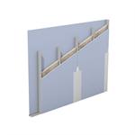 w111.de – knauf metal stud partition – single metal stud frame, single-layer cladding