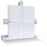 "EnviroGuard™ Sanitary Wall & Ceiling Panels, 3/8"" Nominal Thickness, Sizes: 48"" x 96"", 48"" x 120"", 48"" x 144"""