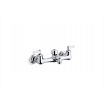 """knoxford™ double lever handle service sink faucet with 2-1/4"""" vacuum breaker threaded spout"""