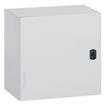 atlantic ip66 waterproof enclosures - ik10 - ral 7035 square version 300x300x160 mm to 1200x1200x400mm