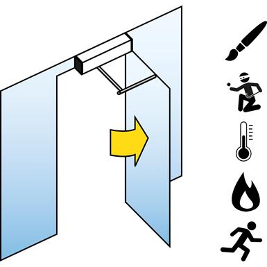 Swing Door Drive Unit (Fire Protection) FD 20-F