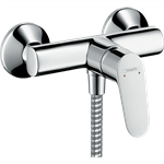 Focus Single lever shower mixer for exposed installation 31960000