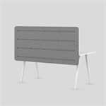 muse desk high acoustic table mounted