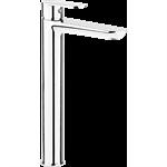 Alpinia washbasin mixer with raised body