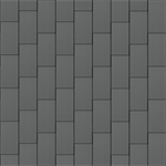 bardeaux façade (500 mm x 1000 mm, vertical, prepatina ardoise)