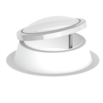 lamilux rooflight f100 circular