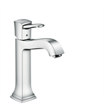 Metropol Classic Single lever basin mixer 160 with lever handle for washbowls with pop-up waste set 31302000