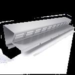 bandeau de faîtage ventilé  bfv2  hauteur 40