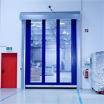 High-speed roll-up door - Non-insulated - EFA-SRT®