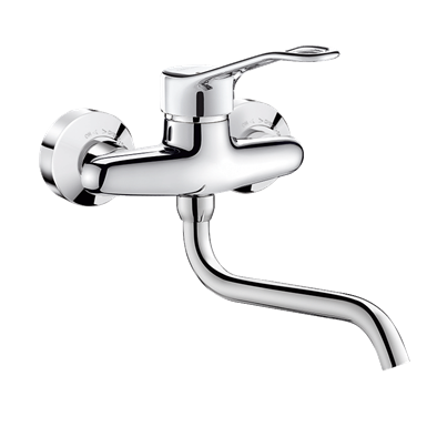 2519  wall-mounted mechanical sink mixer
