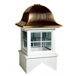 Vermont Series Windowed Cupola Is Square With A Bell Style Roof