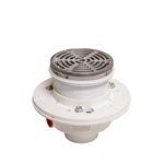 PVC Adjustable Floor Drain with Integrated Level - FD-1190-PR-60