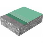 hoch elastischer, dekorativer polyurethan-bodenbelag mit sika® comfortfloor ps-23
