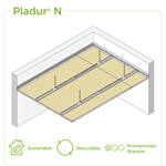 4.2.1 CEILINGS - Suspended single frame T-47 / T-45