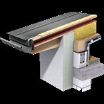 joint debout couverture (580 mm, prepatina ardoise)