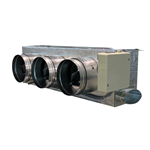 Motorized plenum Daikin standard 2_3 dampers