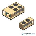 Quantech™ QCC2 Air-Cooled Scroll Condensing Unit, CAPACITY : 15-80 TR