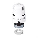 Термостатическая головка. Встроенный датчик с наполненным жидкостью элементом.С адаптером