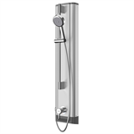 f5l mix stainless steel shower panel with hand shower fitting f5lm2021