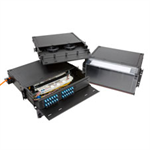 RTS Fiber Enclosure, Rack Mount, Sliding, 1RU, 2RU, and 4RU Configurations Available