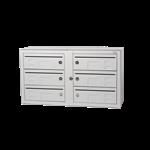 Kompakt 270 6 compartments D 6 mm mail slot