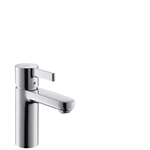 Metris S Single lever basin mixer 100 with pop-up waste set 31060000