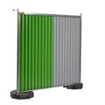 clôture mobile bardée 220