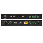 4K Multiformat 2x1 AV Switcher and Receiver w/PoE - HD-RX-4K-210-C-E-POE