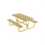 Piknikbord Rörvik furu 160x70x72 cm