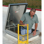 Aluminum Hatch Safety Handrail