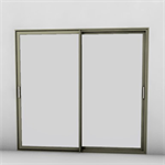 aluminum window - sliding window