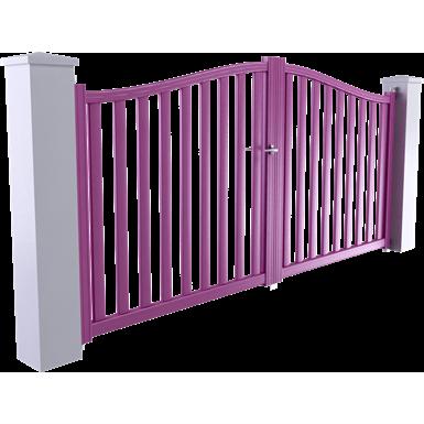 portail ligne horizon modèle corfou 2 vantaux