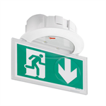 ura practice self-contained emergency lighting autotest-addressable spotlight for ceilling