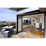 NanaWall® SL45 - The Aluminum Framed Monumental Folding/Paired Panel System
