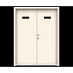 Exterior Door Character Step Double (Inswing)