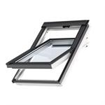 bottom operated std+ polyurethane roof window centre-pivot - glu 0061b