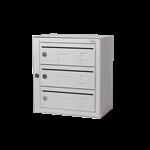 Kompakt 270 3 compartments E 6 mm mail slot