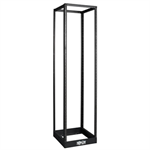 45U SmartRack 4-Post Open Frame Rack, 1000-lb. Capacity - Organize and Secure Network Rack Equipment