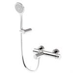 MyRing - external bathtub set with duplex shower kit.