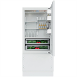 Vertigo Collection - 90 Cm Built-In Bottom Mount Refrigerator KCVCX 20900R