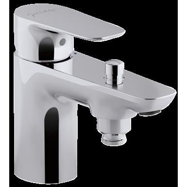 aleo - single-lever bath/shower mixer with supply hoses